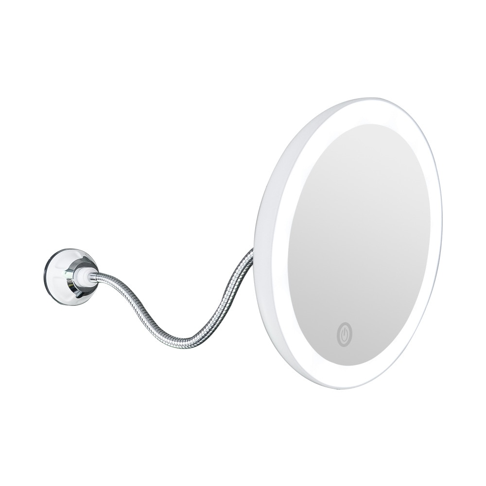 360 Degree Flexible Light Up Mirror Moznex
