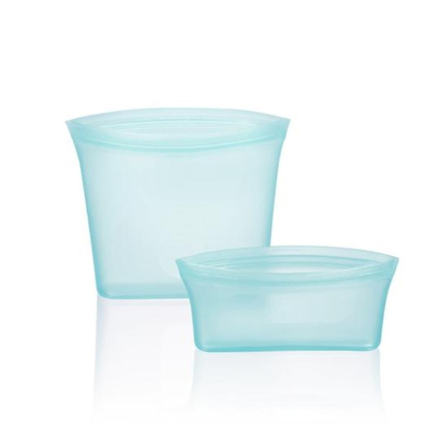 Zip Containers Reusable Stand Up 3 Pcs Silicone Food Storage