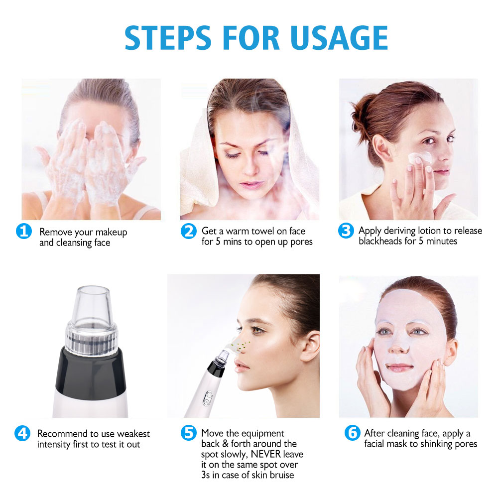 Blackhead Skin Care Face Deep Pore Acne Pimple