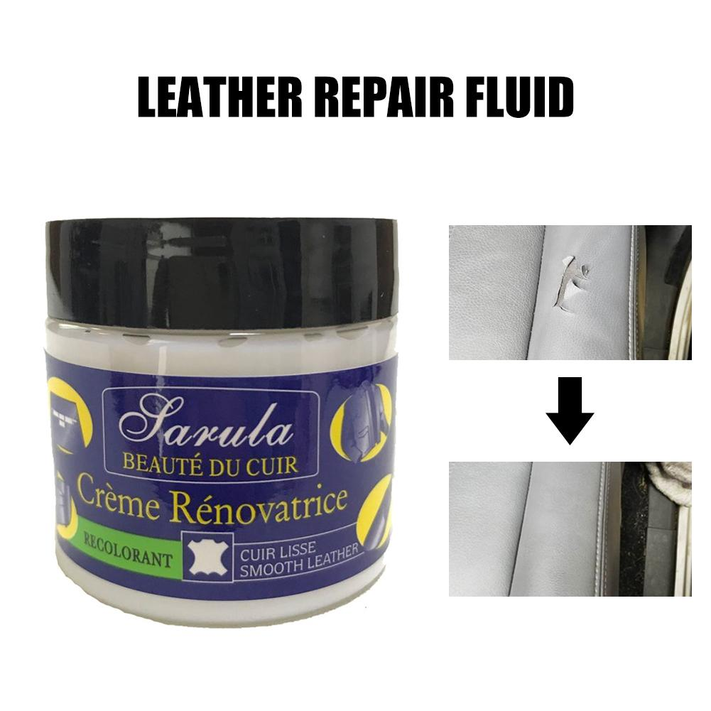 Leather Restoration Cream Car Seat Repair Vinyl Kit Auto