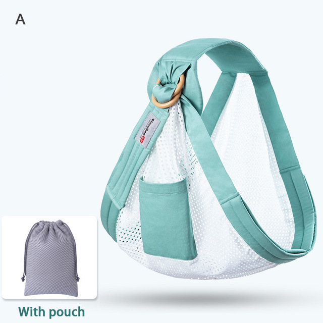 Multi Functional Summer Breathable Baby Carrier Baby Wrap