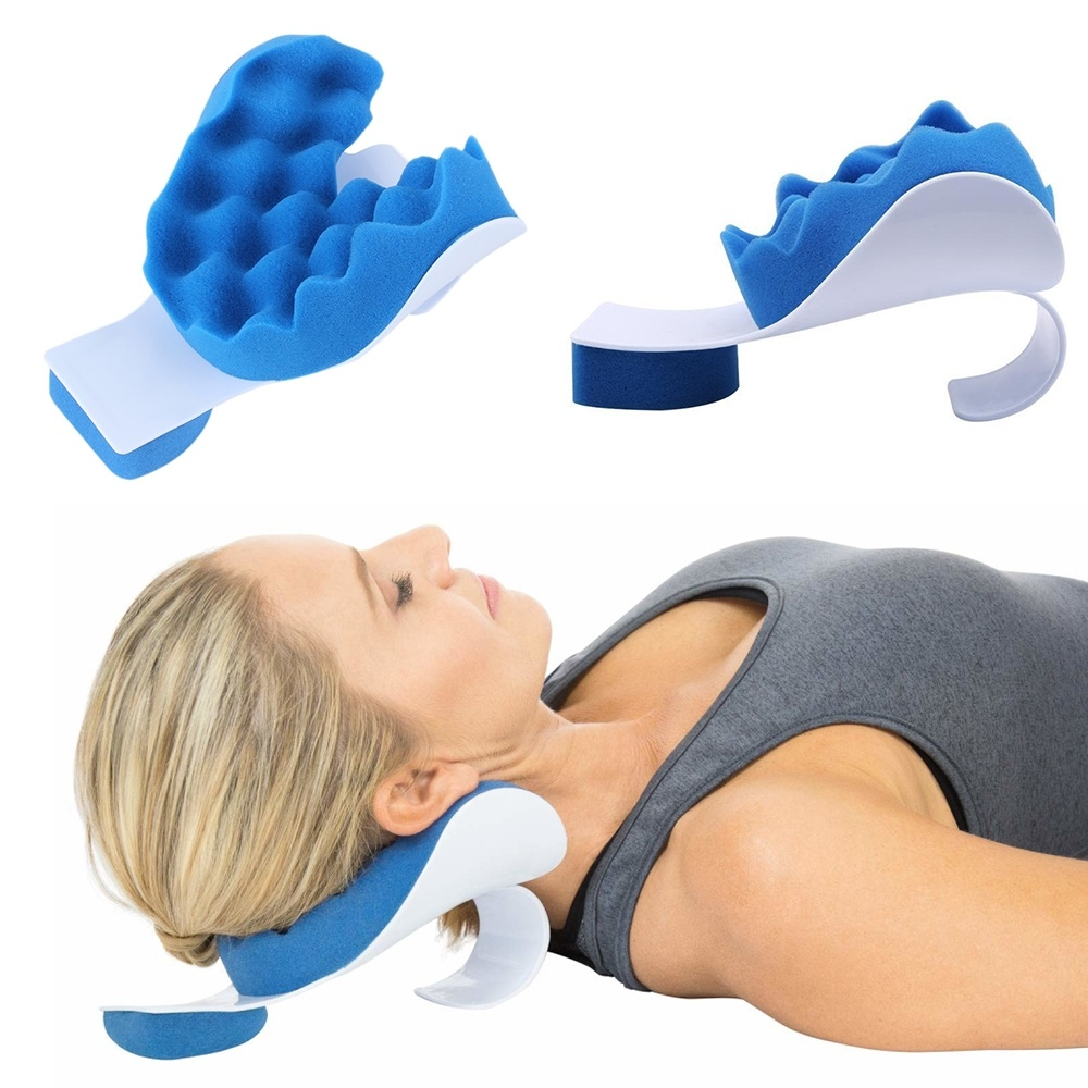 Neck Support Pillow Travel Relief Shoulder Muscle Relaxer